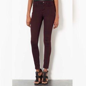 Topshop | Purple Moto Leigh Skinny Jeans